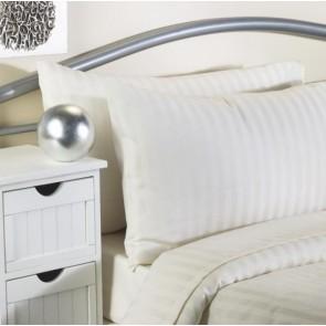 Softguard Flame Retardant - Quilt Cover - Double - Cream Striped