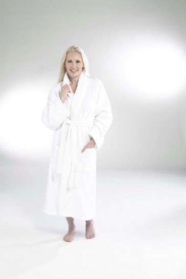 Laundry Towels - Bath robe - White