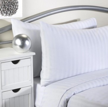Softguard Flame Retardant - Flat Bed Sheet - Striped
