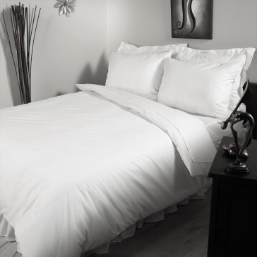 Hotel Accent cotton fitted sheet TC-200