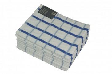 Large Check Tea Towel