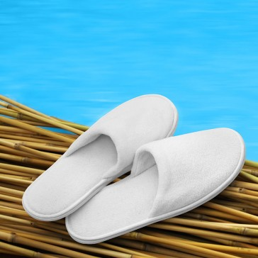 Closed Toe Slipper Fleece Polyester