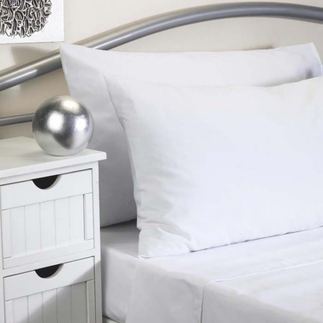 Softguard Flame Retardant Fitted Bed Sheet Single