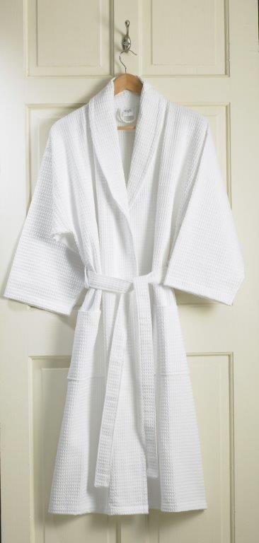 Waffle Bath Robe Kimono Quality Luxury Towels Bathrobes