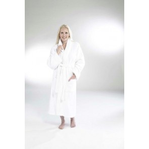 Terry Bath Robe Shawl Collar