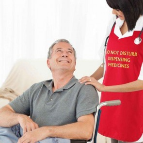 Do Not Disturb dispensing medicine Red Tabard