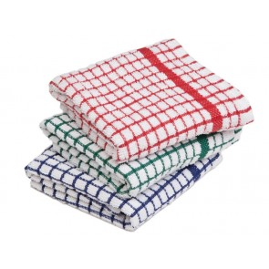 Small Check - TEA TOWEL 1 DOZEN