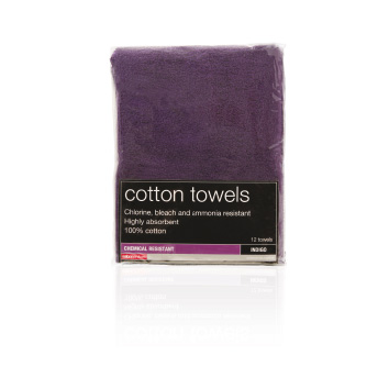 Salon Service Tinting Towel 12 pack, Indigo
